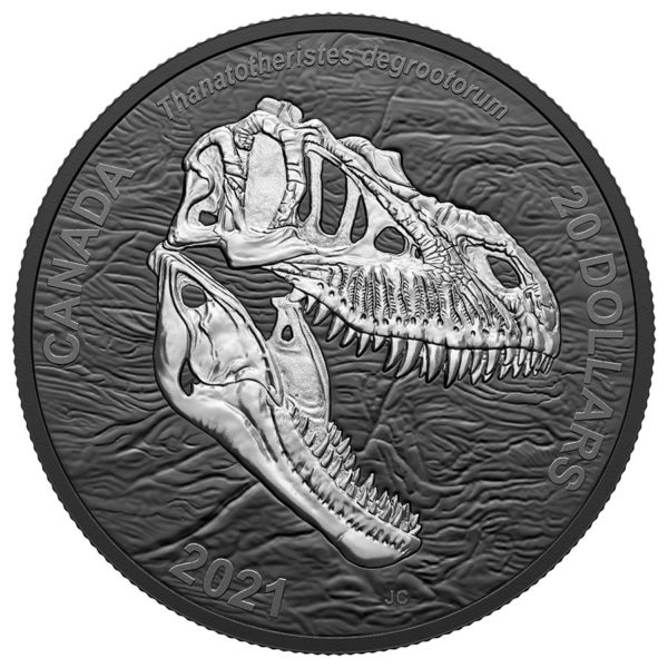 2021 $20 Fine Silver Coin - Discovering Dinosaurs: Reaper ...